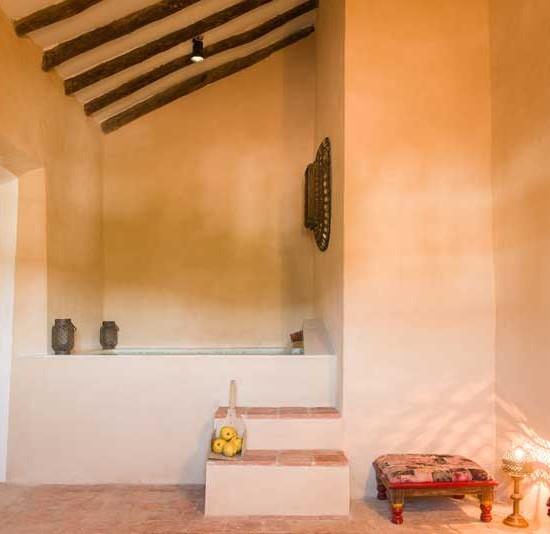 Baños termales en Sierra Morena
